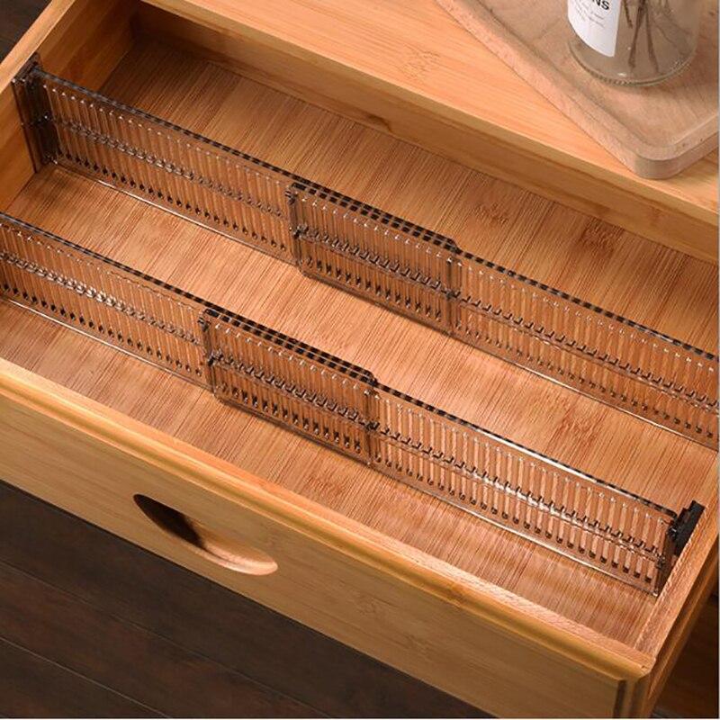 1 conjunto de gaveta de madeira divisória divisor gabinete ajustável diy guarda-roupa partição defletor acabamento organizador armazenamento