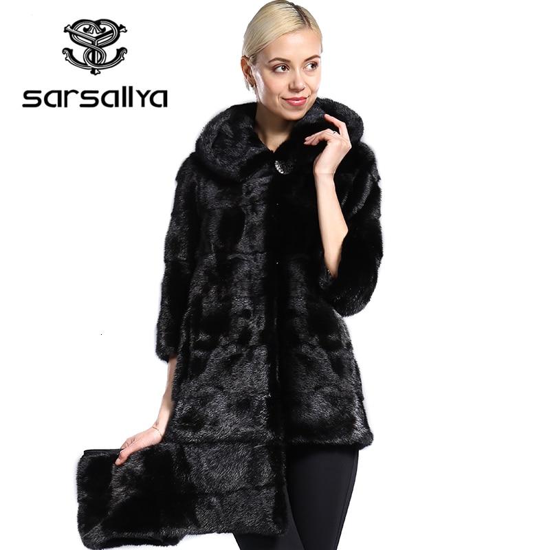 معطف فرو المنك الحقيقي للنساء ، معطف كبير الحجم بقلنسوة ، جاكيت منك أصلي طويل للنساء ، ملابس عتيقة كبيرة الحجم
