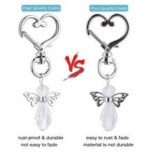 30 Sets Of Creative Angel Key Pendants With Drawstring Organaa Bag Party Thank You Gift Holiday Supp