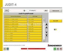 Jungheinrich SH + JUDIT 4 диагностическое программное обеспечение + ET Запчасти каталог (v4.35 + 4,36) + никогда не истек + Keygen для мульт ПК установки