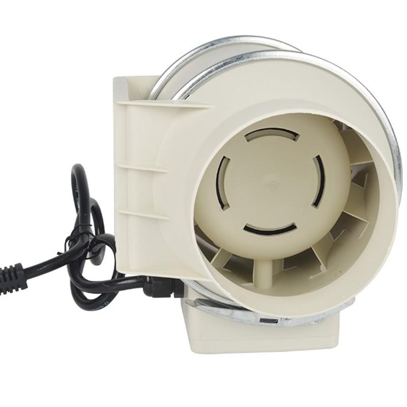 Ventilador de ventilación de tubo redondo serie HF-100