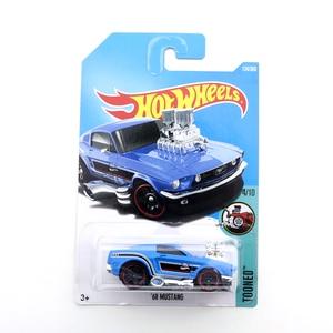 2021-40 Original Hot Wheels Mini Alloy Coupe 68 MUSTANG 1/64 Metal Diecast Model Car Kids Toys Gift