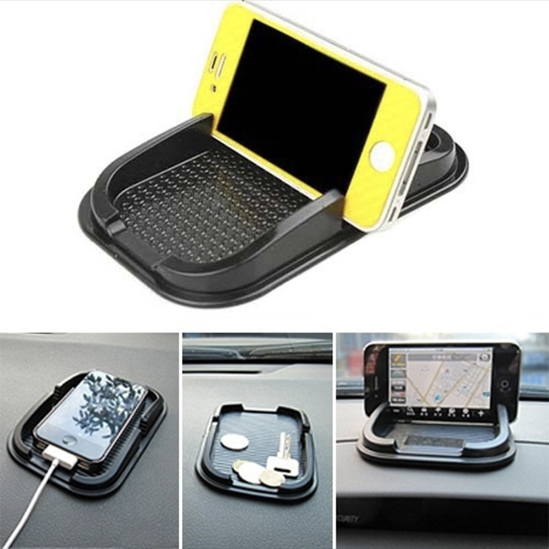 2020 novo carro antiderrapante esteira do telefone gps mp3 almofada suporte de montagem multifunction skidproof dashboard pegajoso para acessórios interiores do carro