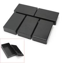 5 pièces marque bricolage 100x60x25mm en plastique électronique projet boîte boîtier Instrument boîtier Top vente