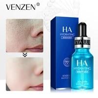 venzen face essence hyaluronic acid whitening moisturizing anti aging anti wrinkle remove fine lines firming deep skincare100ml