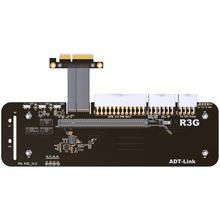 R23SG eGPU PCIe x16 a PCie x4 adaptador de extensión 16x pci-express Cables eGPU para tarjeta gráfica ordenador de escritorio externo