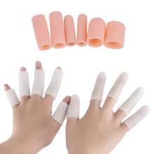 4Pcs/Set Foot Care Tools Fingers Protectors Silicone Gel Tubes Toe Separator Callus Bunion Corrector