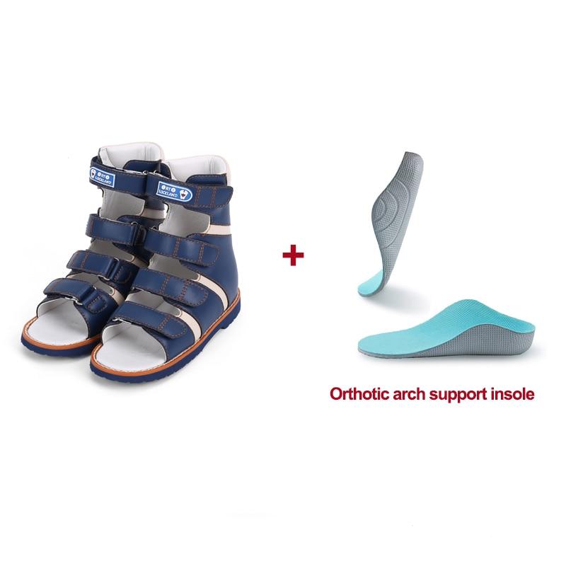 Children Shoes Kids Orthopedic Sandals Boys Summer Non Slip Lightweight High-Top Solid Heel Steady Ankle Clubfoot Footwear enlarge