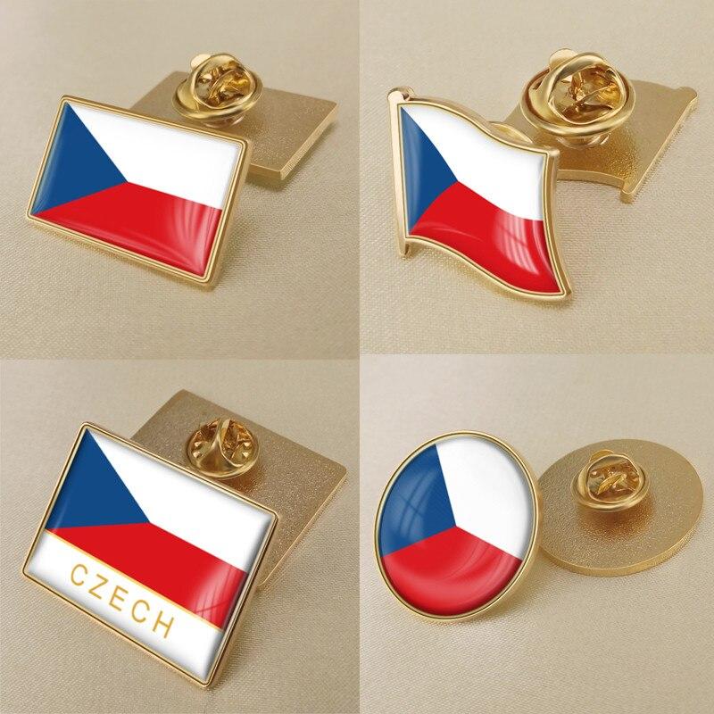 Чехия/Флаг Чехии брошь/значки/отворот булавки