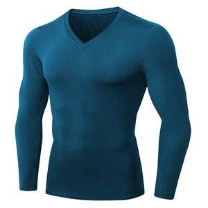Men Soft Cashmere Elastic Pullovers for Mens Winter Sweater men's Jumper Knitted Brand Tops Men's plus fleece V-neck long sleeve