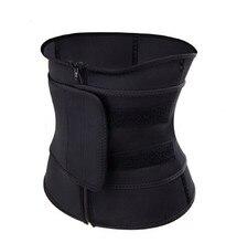 Ceinture de sueur pour femmes   Corset thermomodelé, ceinture dentraînement, Corset amincissant, noir