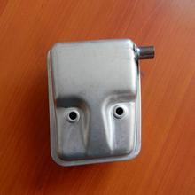 Tubo de escape del silenciador TU26 en el lado para MITSUBISHI TL26 2 ciclo MINI 25.6CC STRIMMER 768 rociador dester bomba de agua setos partes del recortador