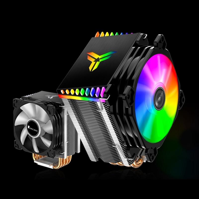 Jonsbo CPU Cooler ARGB Fan 4 Heat Pipes Heatsink for I ntel LGA775 1150 1151 1155 1156 AM2+ AM3+ AM4 FM2+ FM2 FM1