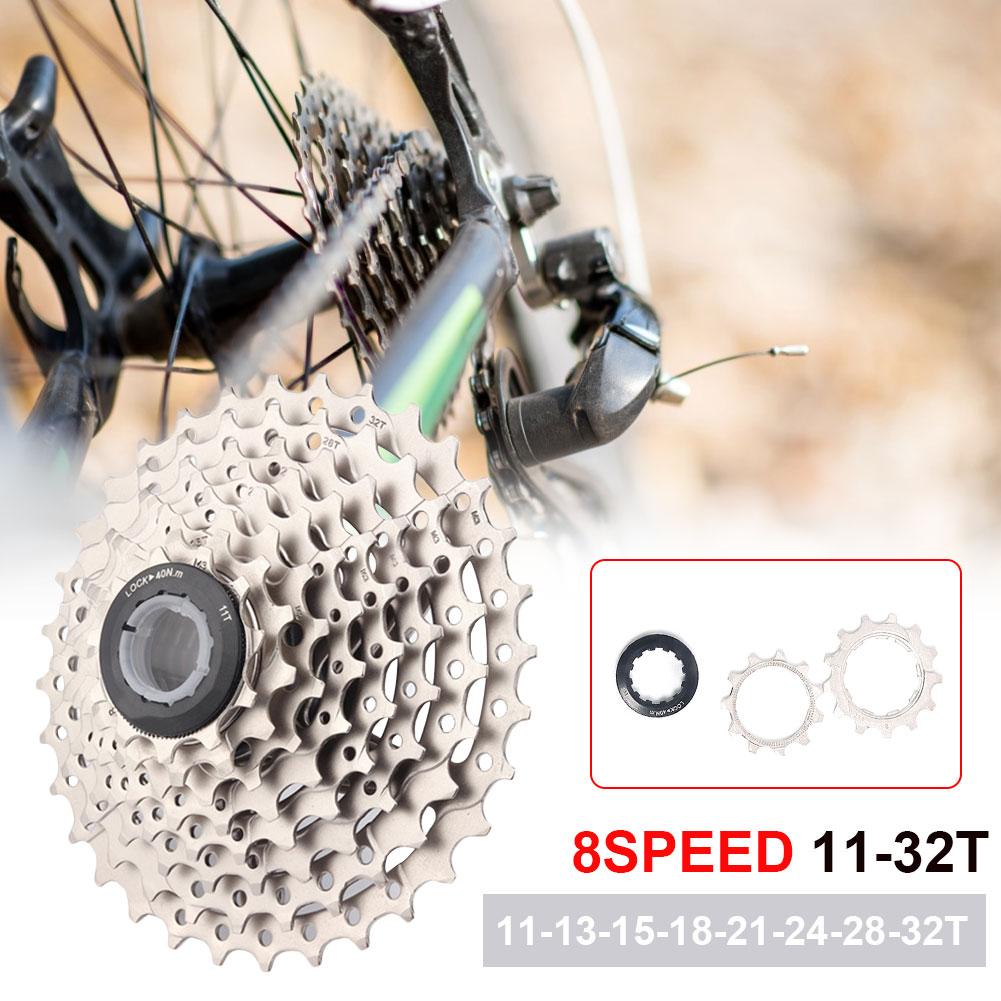 11-32T Cassette Freewheel 8 Speed Steel Sprocket Spare Parts For MTB Road Bike