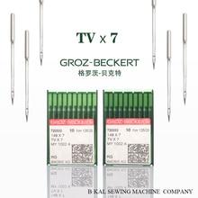100PCS GROZ BECKERT TVX7 Double needle chain sewing machine Submerged clamp machine needles