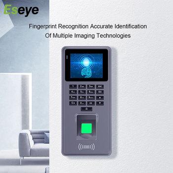 Eseye Biometric Attendance System Access Control Rfid Keypads USB Download Software Report Office Fingerprint Attendance Machine