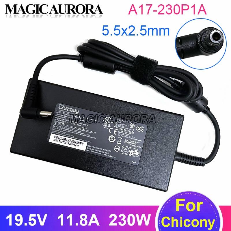 جديد Chicony AC محول A17-230P1A 19.5V 11.8A A230A015P ل MSI GS65 GS75 الشبح 9SD-407CN 9SF-270PT 8SE 8SF شاحن للكمبيوتر المحمول