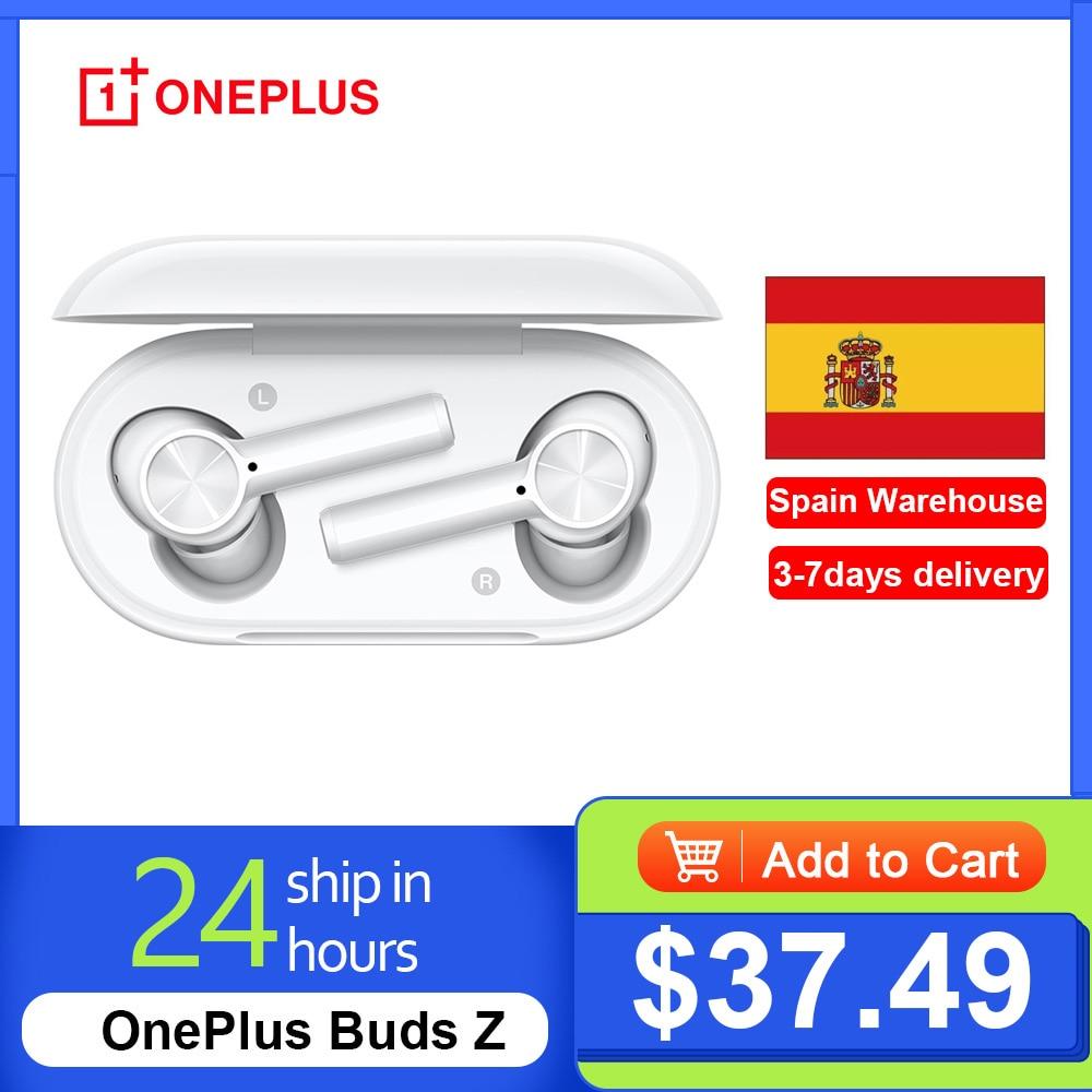 In Spanien Lager OnePlus Knospen Z kopfhörer Kugeln Drahtlose 2 Bluetooth 5,0 Magnetic Control Headset Für Oneplus 8T 8 pro 6T
