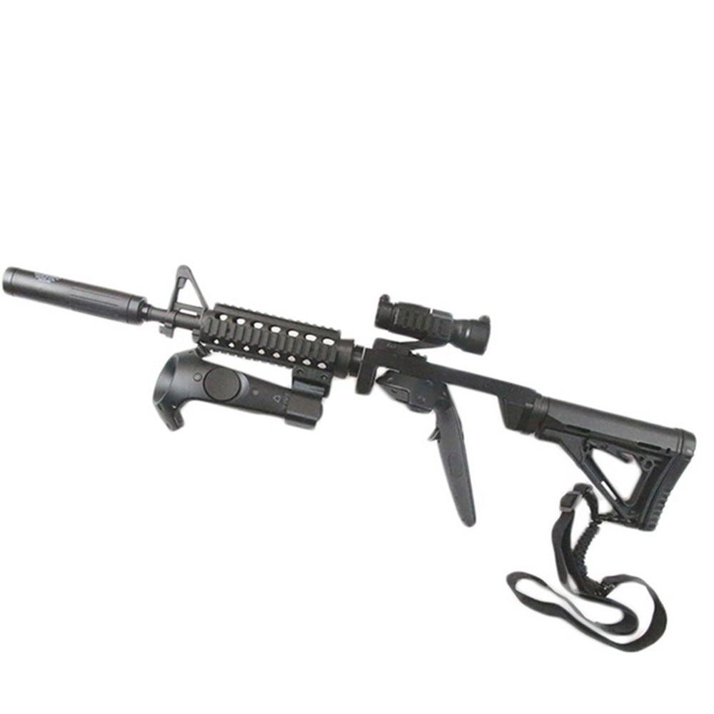 حامل مسدس إطلاق النار بمقبض مزدوج ، وحدة تحكم مغناطيسية قابلة للتعديل ، ملحق سماعة رأس HTC Vive VR