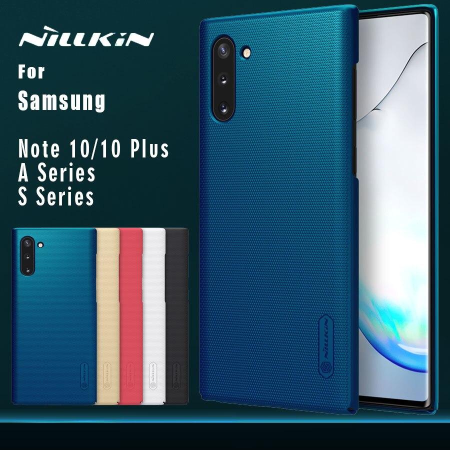 Para Samsung Galaxy Nota 10 Plus 5g NOTE10 caso Nillkin mate escudo cubierta