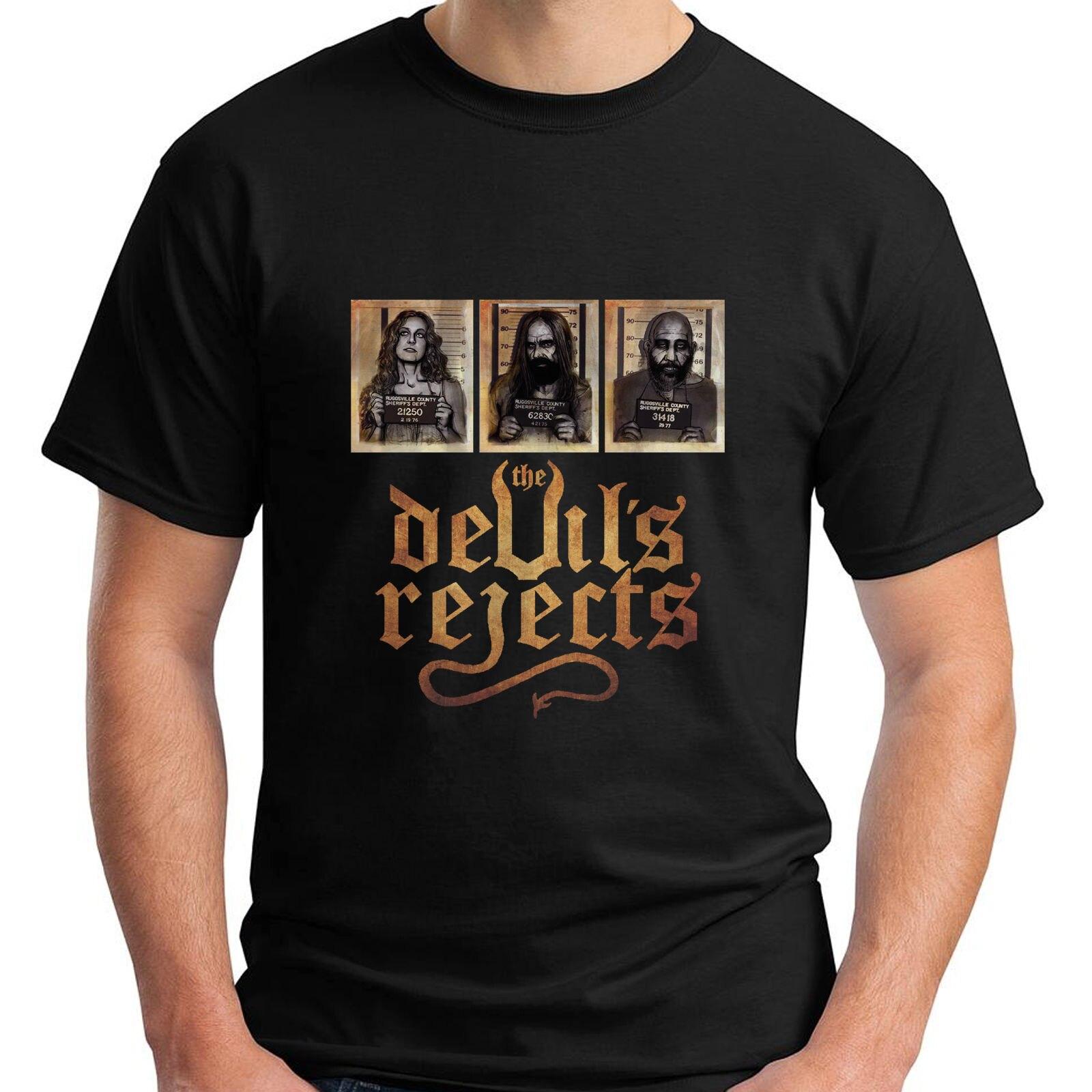 Nuevo capitán Spaulding Devils Reject TV Show camiseta negra para hombres tamaño S a 3XL Stranger Things camiseta impresa Original