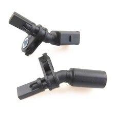 HONGGE, 2 uds., motor de coche 1,4 Fornt, Sensor de velocidad de neumáticos automotrices izquierdo y derecho ABS para A2 Polo 9N 6R 6C WHT 003 860 WHT003861