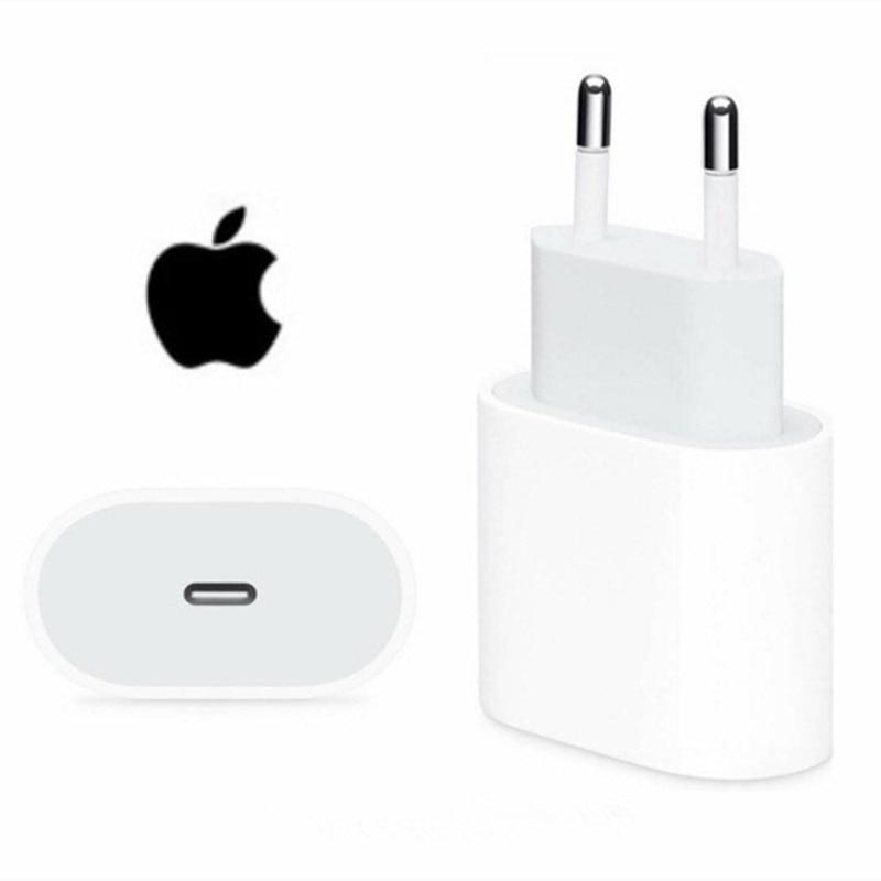 Оригинальный внешний адаптер питания 20 Вт для iphone 12 12mini Pro Max Type C, быстрое зарядное устройство для Apple, кабель для iPhone 8 Plus X XR 11 XS | Мобильные телефоны и аксессуары | АлиЭкспресс