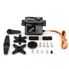 HOT! JX BLS-HV7132MG 32KG Metal Steering Digital Gear HV Brushless Servo with High Voltage for RC Ca