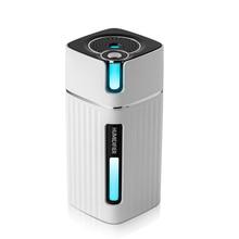 Nouveau diffuseur intelligent darome de brume fraîche ultrasonique dhumidificateur dair avec le LED couleur pour le brumisateur de fabricant de brume dumidificador de voiture de bureau