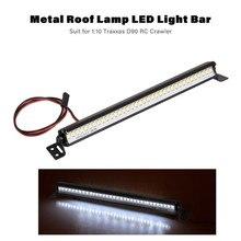 Projecteur de toit de voiture RC lumière LED lampe de barre pour 1/10 TRAXXAS TRX4 SCX10II GEN8 RC pièces de voiture sur chenilles accessoires