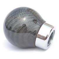 free shipping carbon fiber car gear shift knob shifter lever ball manual car gear head handball shift knob universal