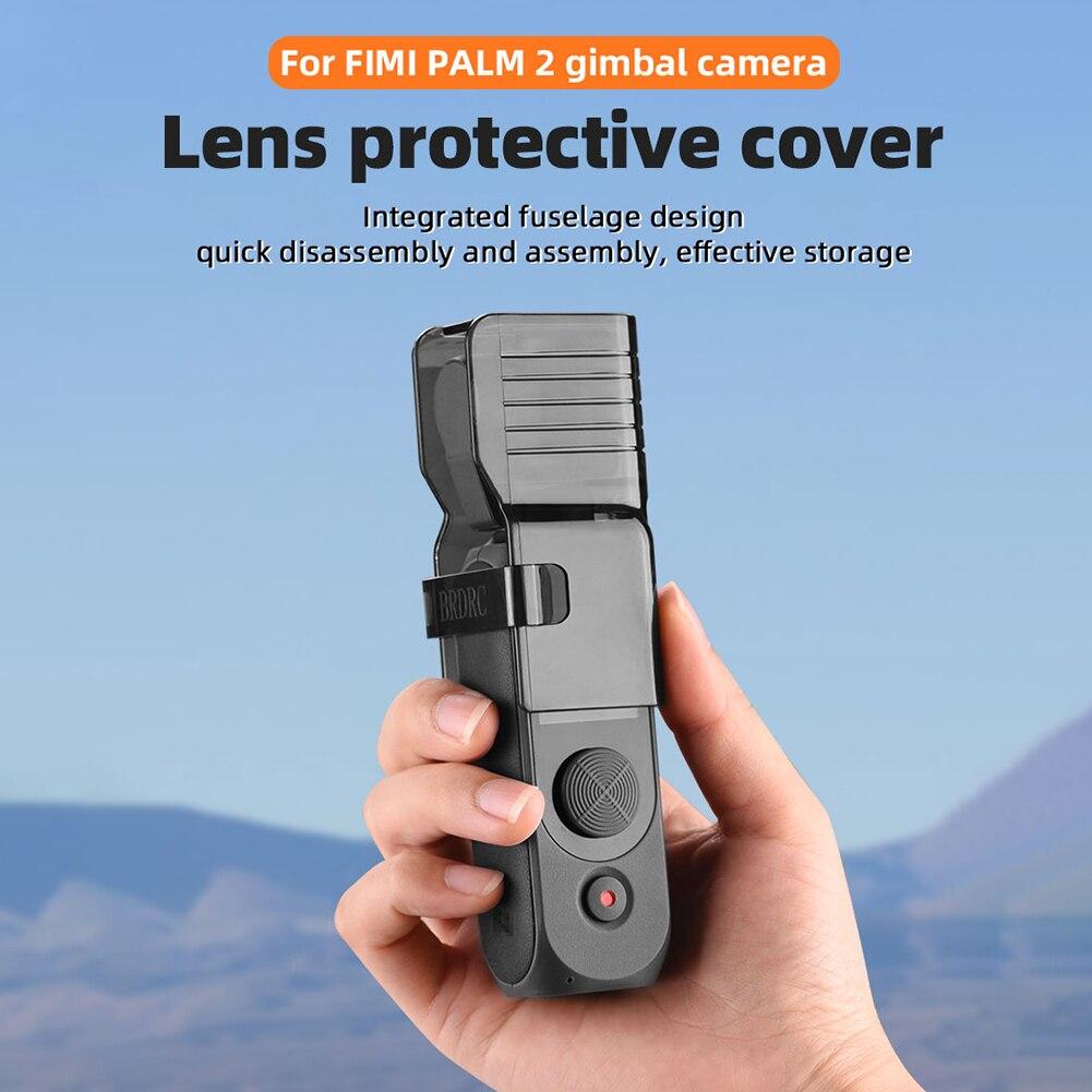 Пылезащитная Крышка для объектива, защитный чехол, карданный держатель, запасные части для камеры FIMI, ладонь 2, защита от царапин