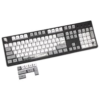 113 key ink landscape keycap oem pbt 5 surfaces dye mechanical keyboard keycap