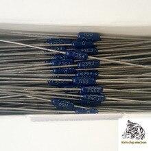 50 pièces/lot 115R bleu foncé DALE 1/4W 0.25W 1% film métallique résistance 1150F peut remplacer 110R 120R