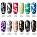 ROSALIND Stamping Gel Polish Hybrid Vernis Semi Permanent UV Nail Polishes Nail Art Manicure Stamping Plate