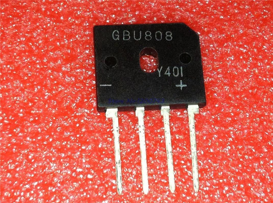 1 unids/lote GBU808 postal 808-4 8A 800V en Stock