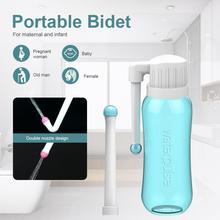 PULVERIZADOR DE bidé portátil de mano, limpiador Personal, botella de higiene, limpiador en aerosol, accesorios de bidé, envío directo