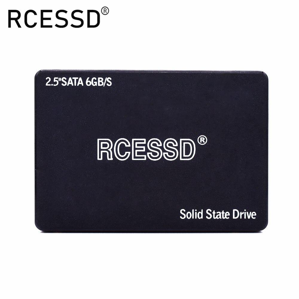 RCESSD HDD 2,5 SATA3 SSD пластик 120 ГБ SATA III 240 ГБ SSD 480 ГБ SSD Внутренний твердотельный накопитель для настольного ноутбука ПК 512 ГБ 256 ГБ