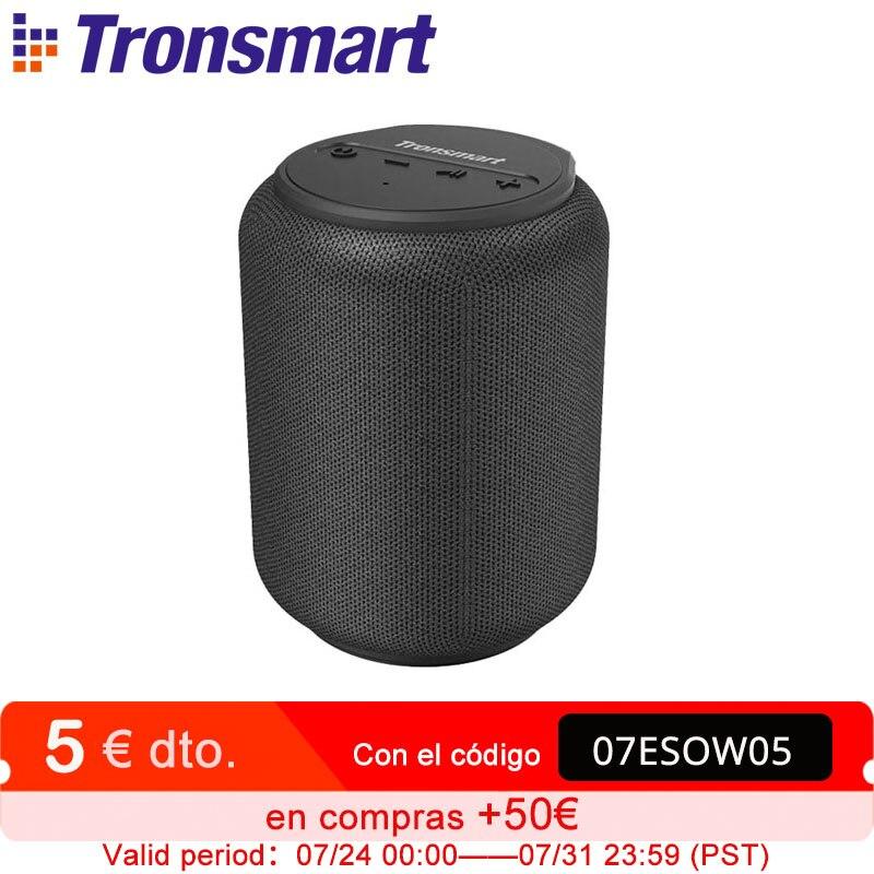 Tronsmart T6 Mini بلوتوث صغير المتكلم مكبرات الصوت IPX6 مكبر صوت لاسلكي قابل للحمل مع 360 درجة الصوت المحيطي ، مساعد الصوت