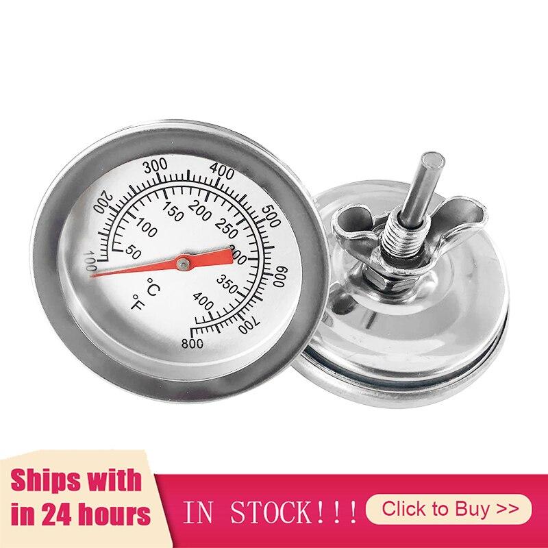 Термометр для мяса на гриле, бытовой измеритель температуры из нержавеющей стали, зонд для приготовления пищи, аксессуары для барбекю
