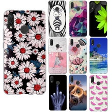 Case For Huawei Nova 3i Capa For Huawei P Smart+ Case Cartoon Silicone Soft Back Cover For Huawei No