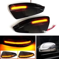2x dynamic blinker turn signal led side mirror indicator light lamp for mercedes benz viano vito bus w639 126 200709 2019