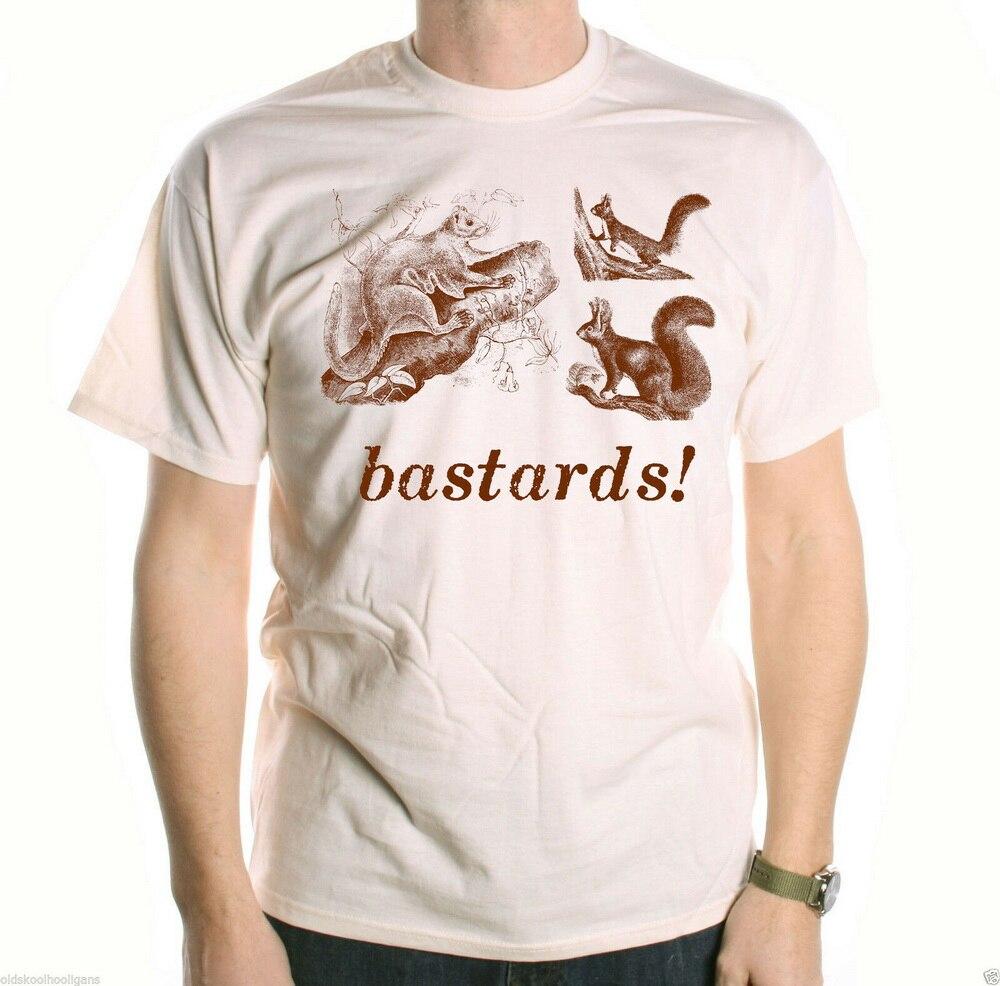 Camiseta de ardillas de Bastards inspirada por Blackadder, Camiseta clásica de TV,...