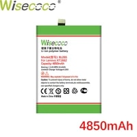 wisecoco bl265 4850mah 3 85v battery for lenovo xt1662 for moto m xt1662 xt1663 phone replacement