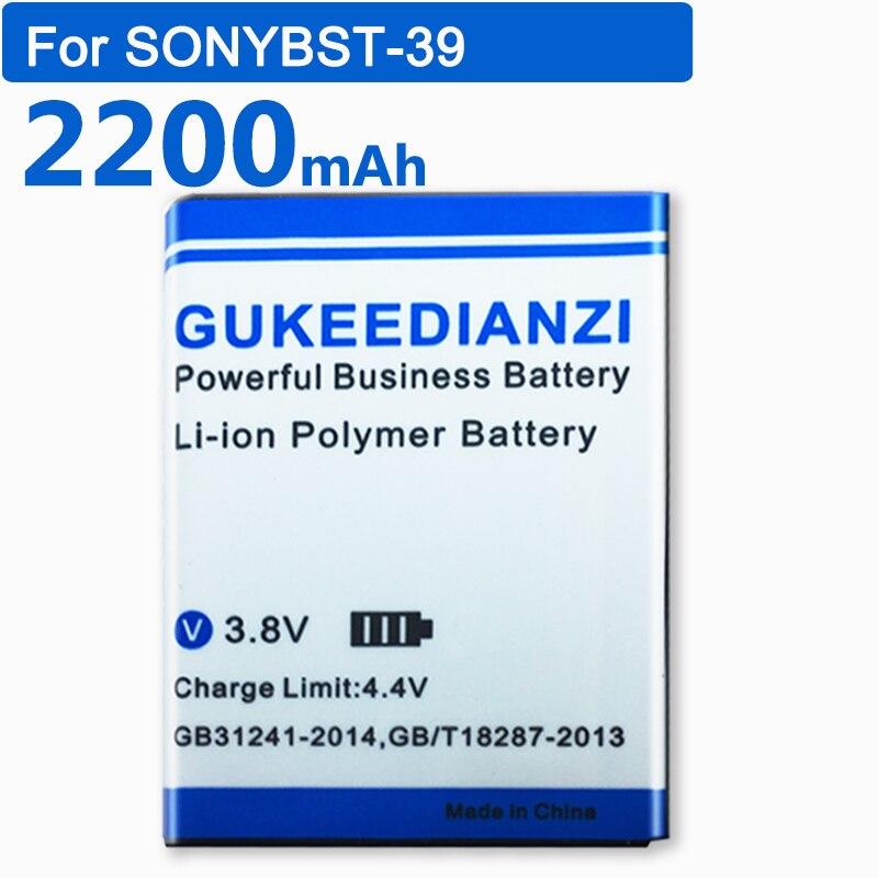 GUKEEDIANZI BST-39 BST-39 Replacement Battery For Sony Ericsson TM717 T707 W380 W380a W518 W518a W908c W910i Z555i W508 W508c