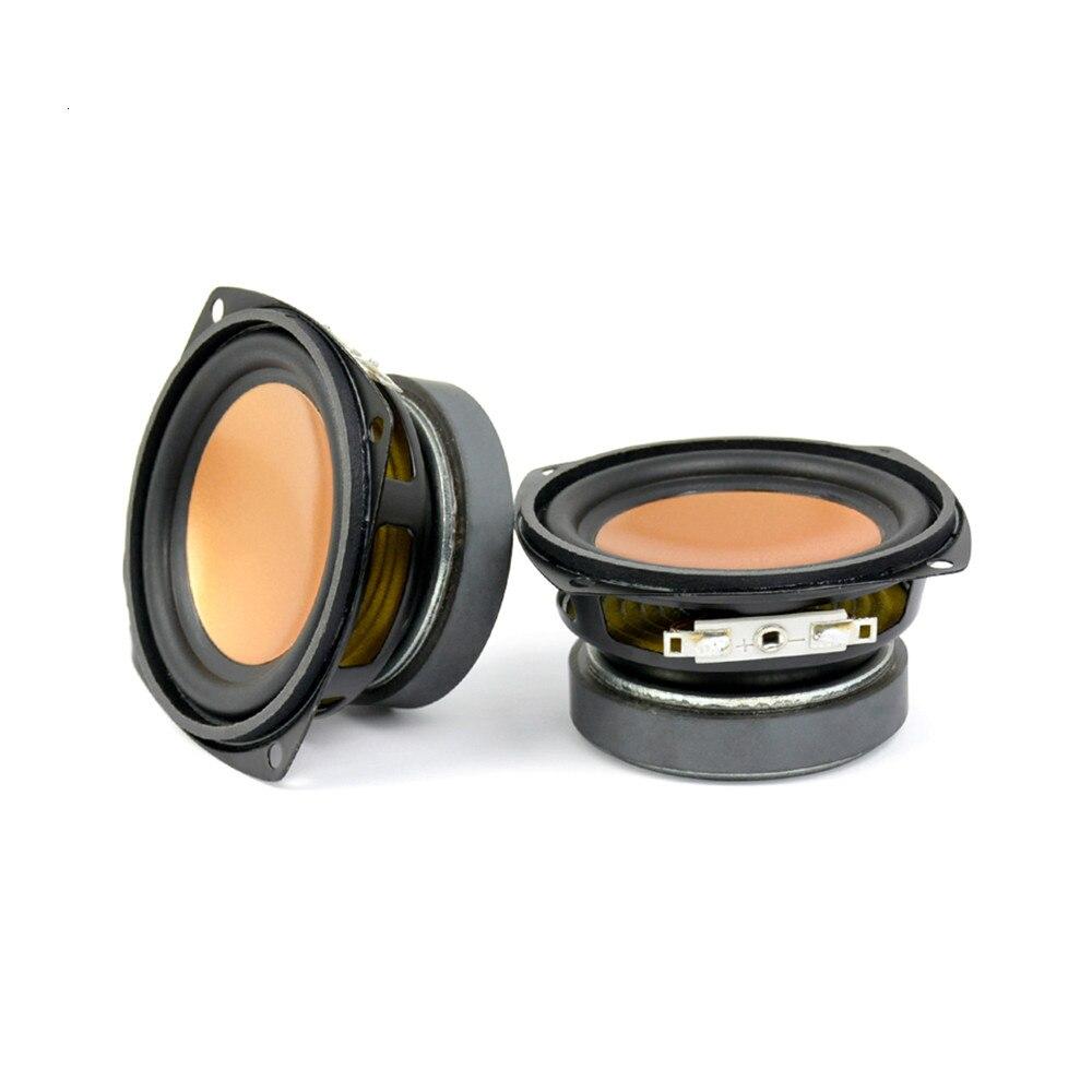 AIYIMA 2Pcs Audio Speaker Driver 3 Inch 4Ohm 20W Full Range Bass Speakers Multimedia Loudspeaker Audio Desktop DIY