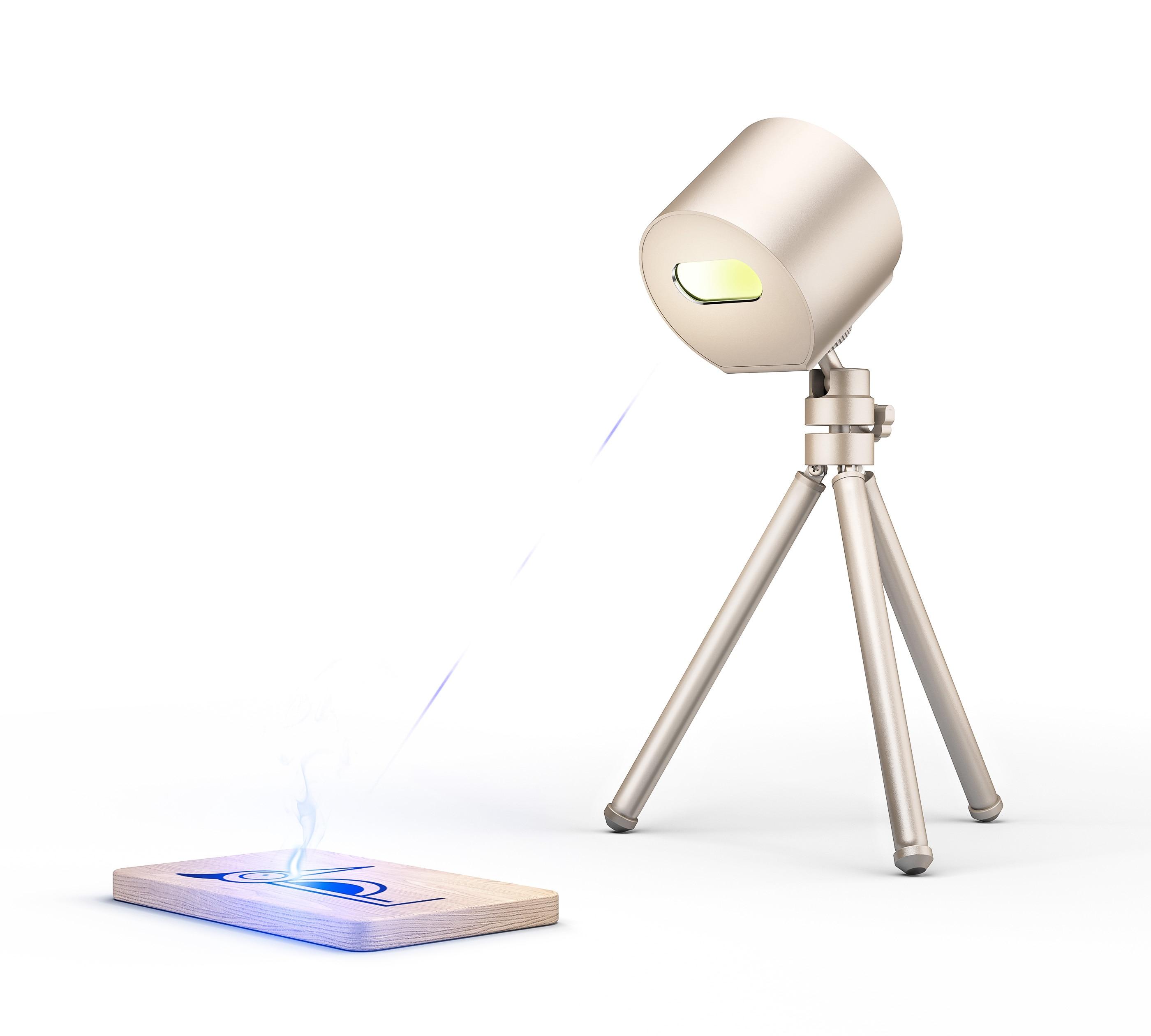 1.6 w compacto máquina de gravador a laser portátil pecker laser mini desktop gravura a laser etcher cortador a laser impressora segurança