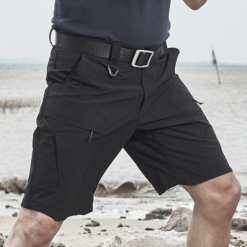 Outdoor Cool Hiking Shorts Men Summer Stretch Quick Dry Shorts Military Tactical Shorts Hunting Fishing Male Breathable Shorts