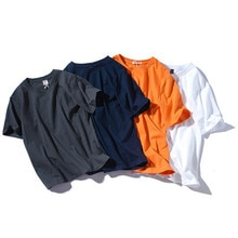 100% de algodón de manga corta para hombre, camiseta informal holgada de verano para hombre, camiseta para hombre, camiseta para parejas, camiseta para mujer LYG999