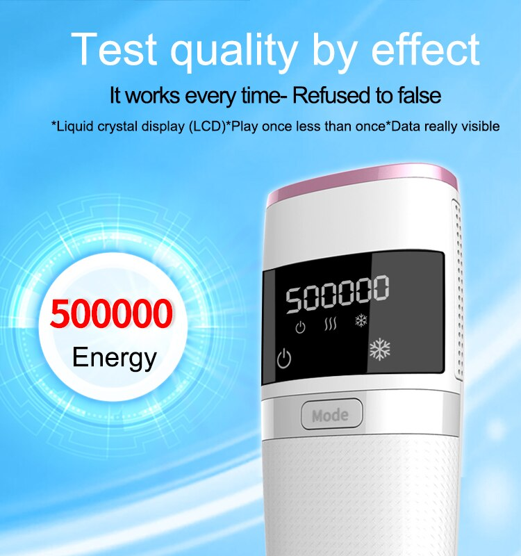 AIFREE 999999 Flashes IPL Laser Epilator for Women Home Use Devices Hair Removal Painless Electric  Bikini enlarge